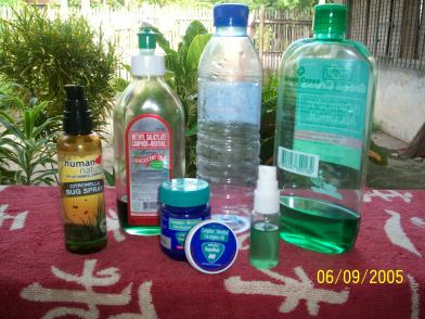 DIY natural alternative products available in some local markets.