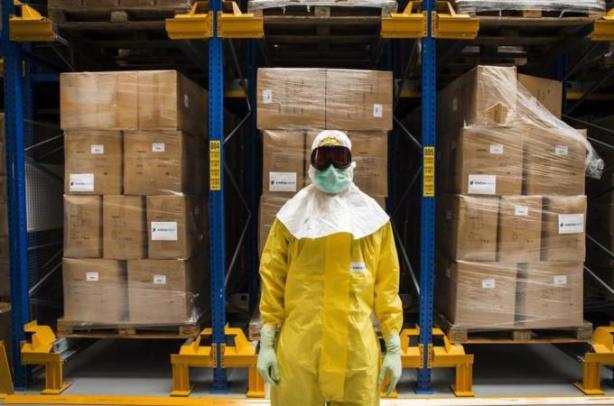 ebola suit