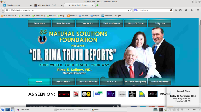 NSF being attacked for supplying Silver Sol 10 PPM to Sierra Leone-- It Works!